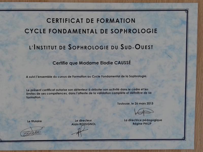 Cycle Fondamental de Sophrologie