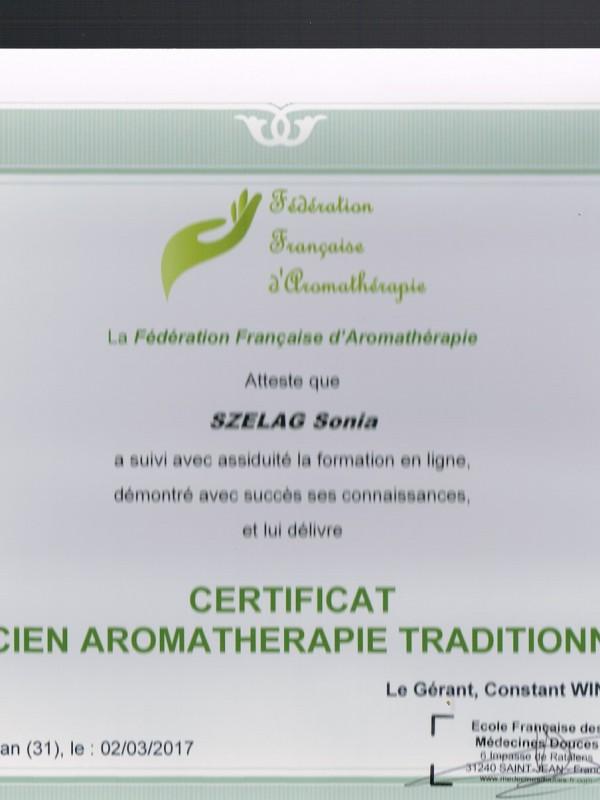 Aromathérapeute