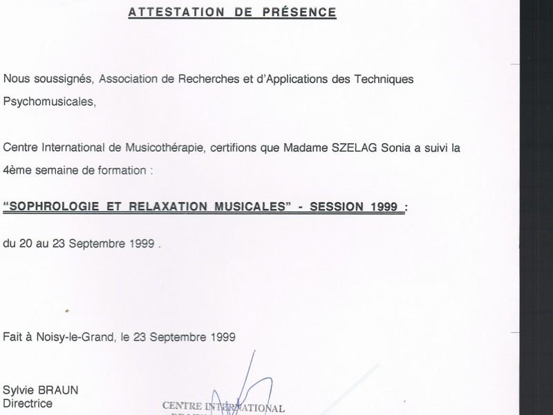 certificat spécialité sophrologie et relaxation