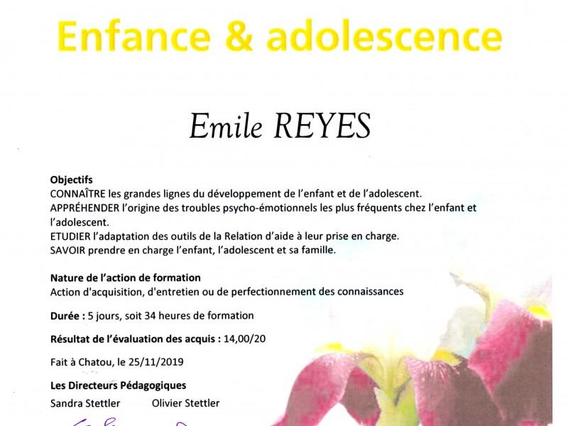 Formation Professionnelle Enfance et Adolescence