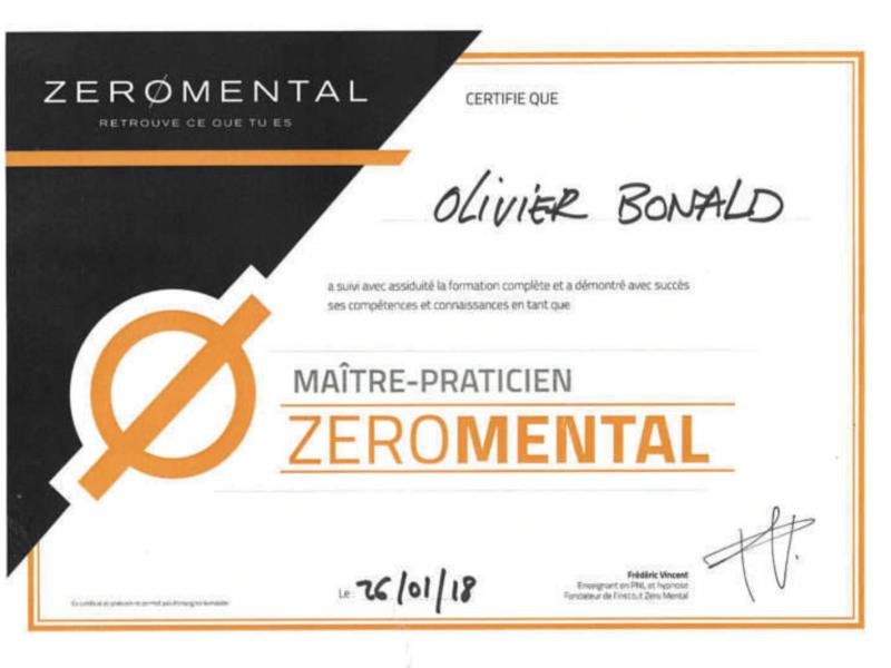 Maître praticien zéro mental